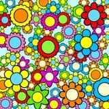 Kleurrijke bloemachtergrond Stock Afbeelding
