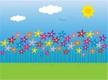 Kleurrijke bloemen vector illustratie