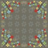 Kleurrijke bloemen Royalty-vrije Illustratie