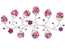 Kleurrijke bloemen Royalty-vrije Stock Afbeelding