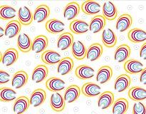 Kleurrijke bloemen abstracte achtergrond Stock Fotografie