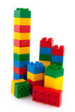 Kleurrijke blokken Stock Foto