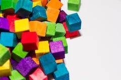 Kleurrijke Blokken Royalty-vrije Stock Afbeelding