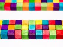 Kleurrijke Blokken Stock Afbeeldingen
