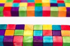 Kleurrijke Blokken Royalty-vrije Stock Foto