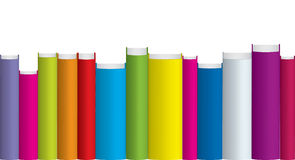 Kleurrijke boeken Stock Afbeeldingen