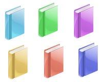 Kleurrijke Boeken Stock Foto's