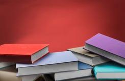 Kleurrijke Boeken Royalty-vrije Stock Afbeelding