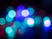 Kleurrijke Bokeh stock afbeeldingen