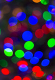 Kleurrijke bokeh Stock Foto's