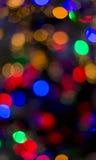 Kleurrijke bokeh Stock Afbeelding