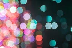 Kleurrijke Bokeh Royalty-vrije Stock Afbeeldingen