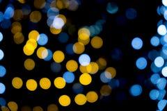 Kleurrijke bokeh abstracte lichte achtergrond Stock Afbeeldingen