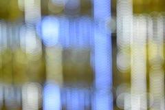 Kleurrijke bokehbeelden voor behang, textuur, achtergrond Royalty-vrije Stock Foto's