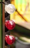Kleurrijke bollen Stock Fotografie