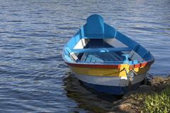 Kleurrijke boot Royalty-vrije Stock Fotografie