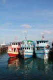 Kleurrijke boot Stock Fotografie