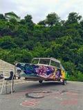 Kleurrijke boot Royalty-vrije Stock Foto