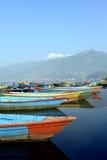 Kleurrijke boten Royalty-vrije Stock Afbeelding