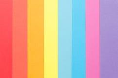 Kleurrijke bouwdocument strepen Stock Foto's