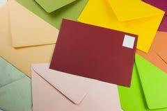 Kleurrijke brieven Royalty-vrije Stock Foto