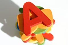 Kleurrijke brieven Royalty-vrije Stock Afbeelding