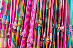 Kleurrijke broeken stock foto's