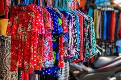 Kleurrijke broekenmeisjes Royalty-vrije Stock Foto's
