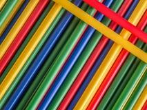 Kleurrijke buizen Royalty-vrije Stock Foto