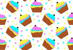 Kleurrijke Cakes Royalty-vrije Stock Afbeeldingen