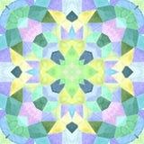 Kleurrijke caleidoscoop met zo vele ornamenten en kleur, naadloze textuur royalty-vrije illustratie