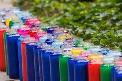 Kleurrijke Cancles Royalty-vrije Stock Afbeelding