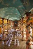 Kleurrijke Cao Dai Stock Foto