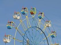 Kleurrijke carrousel. Stock Fotografie