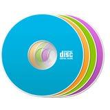 Kleurrijke CD Royalty-vrije Stock Foto