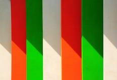 Kleurrijke cementmuur Stock Fotografie