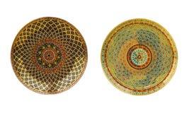 Kleurrijke ceramische achtergrond Royalty-vrije Stock Foto's