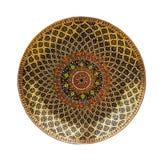 Kleurrijke ceramische achtergrond Royalty-vrije Stock Afbeeldingen