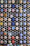 Kleurrijke ceramische kappen Royalty-vrije Stock Afbeeldingen