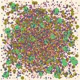 Kleurrijke chaosachtergrond stock illustratie