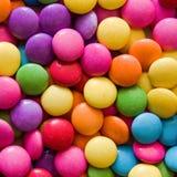 Kleurrijke chocolade Stock Foto's