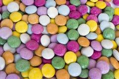 Kleurrijke chocolade Stock Afbeelding