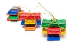 Kleurrijke chocoladerepen Royalty-vrije Stock Foto