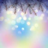 Kleurrijke Christmass-achtergrond Royalty-vrije Stock Afbeeldingen