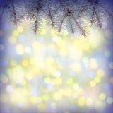Kleurrijke Christmass-achtergrond Royalty-vrije Stock Foto
