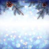 Kleurrijke Christmass-achtergrond Royalty-vrije Stock Foto's