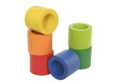 Kleurrijke cilinders Royalty-vrije Stock Fotografie