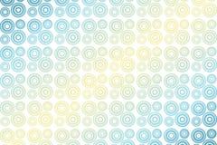 Kleurrijke Cirkel stock illustratie