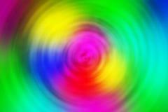 Kleurrijke cirkel vage achtergrond Stock Foto