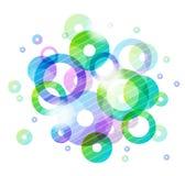 Kleurrijke Cirkels stock illustratie